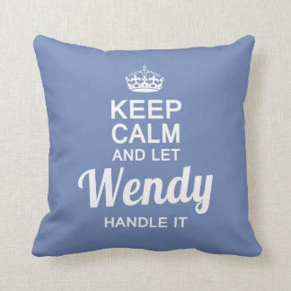 Wendy Handle it! Cushion