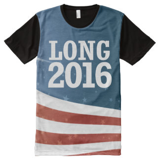 Wendy Long 2016 All-Over Print T-Shirt