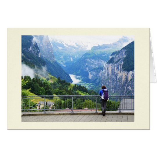Wengen in Switzerland Card