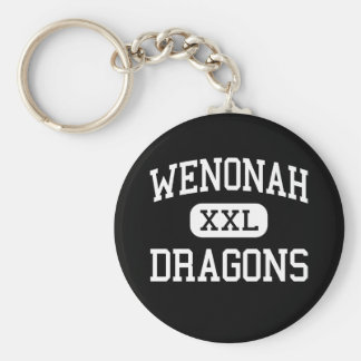 Wenonah - Dragons - High - Birmingham Alabama Basic Round Button Key Ring