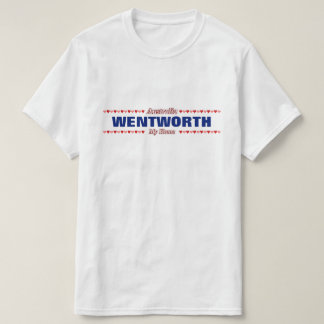 WENTWORTH - My Home - Australia; Red & Pink Hearts T-Shirt