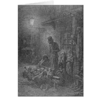 Wentworth Street, Whitechapel, from 'London Card