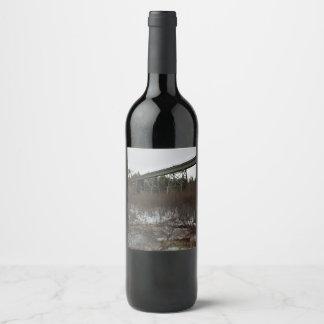 Wentworth Train Trestle Wine Label
