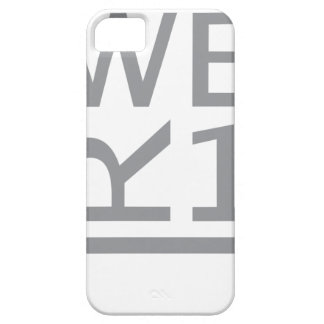 WER1 T-SHIRT iPhone 5 CASES