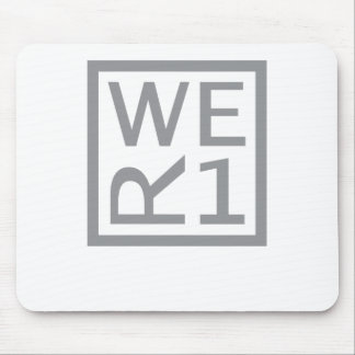 WER1 T-SHIRT MOUSE PAD