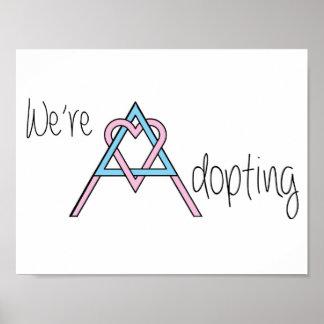 We're Adopting - Poster