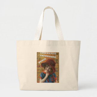 """We're all in the gutter. . . . "" Large Tote Bag"