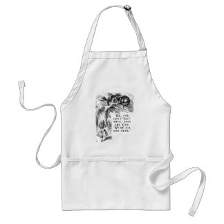 We're all mad here - Cheshire cat Standard Apron