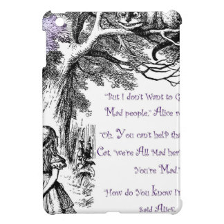 We're All Mad Here Cover For The iPad Mini