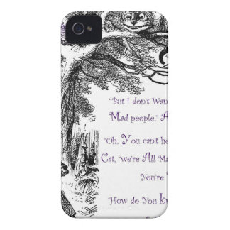 We're All Mad Here iPhone 4 Case