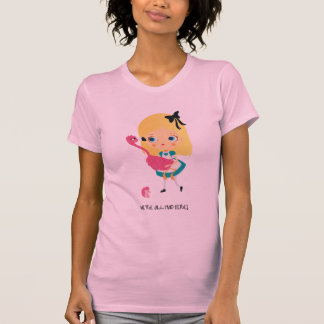 We're all mad here! Woman Tshirt