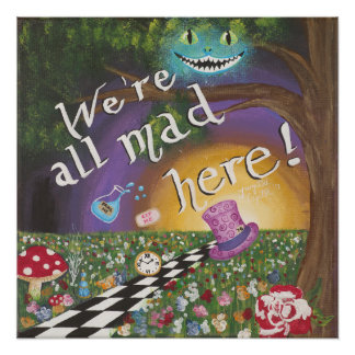 We're All Mad Poster