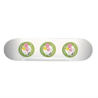 We're Cute, Eat Fruit Skateboard