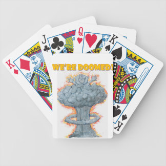 We're Doomed! Bicycle Playing Cards