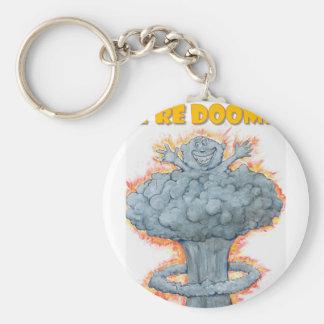 We're Doomed! Key Ring