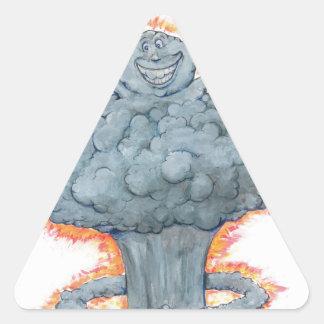We're Doomed! Triangle Sticker