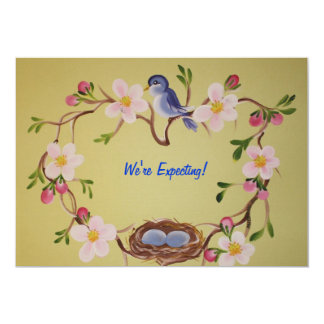 We're Expecting! 13 Cm X 18 Cm Invitation Card