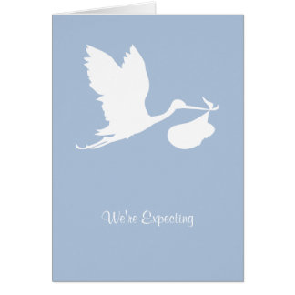 We're Expecting Card