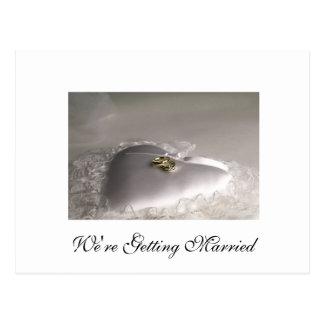 We're Getting Married Postcard