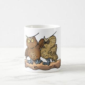 We're just a coupleof ole hoots cup coffee mug