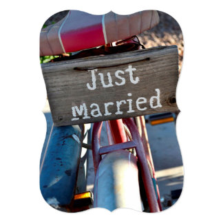 We're Married Las Vegas Elope Wedding Announcement