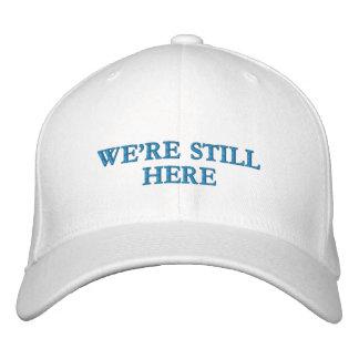 We're Still Here - Flexfit Wool Cap (light colors)