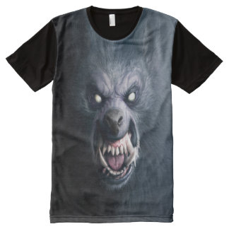 WereBeast Print All Over T-shirt