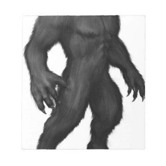 Werewolf #2 notepad