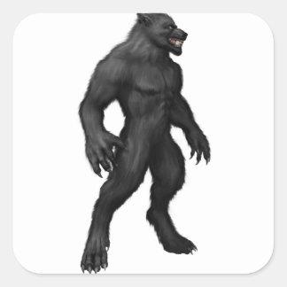 Werewolf #2 square sticker