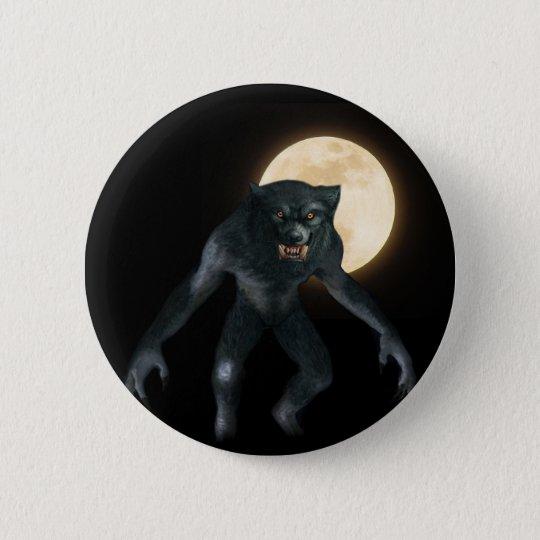 Werewolf 6 Cm Round Badge