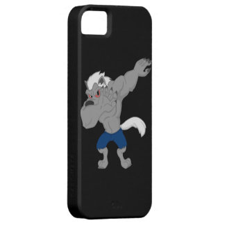 werewolf Dabbing Funny Halloween Dab Dance Barely There iPhone 5 Case