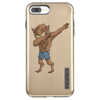 werewolf Dabbing Funny Halloween Dab Dance Incipio DualPro Shine iPhone 8 Plus/7 Plus Case