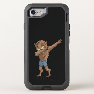 werewolf Dabbing Funny Halloween Dab Dance OtterBox Defender iPhone 8/7 Case