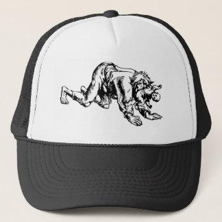 Werewolf Eating Baby Trucker Hat