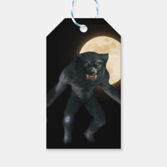 Werewolf Gift Tags