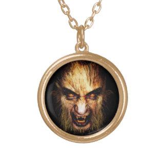 Werewolf Gold Necklace