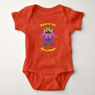 Werewolf Halloween Baby Bodysuit