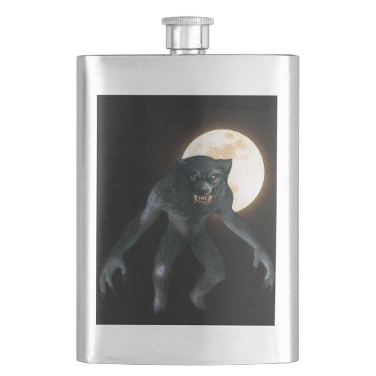 Werewolf Hip Flask