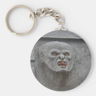 Werewolf Horror Character Key Chain