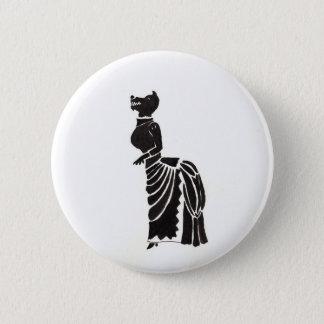 Werewolf In A Fancy Dress 6 Cm Round Badge