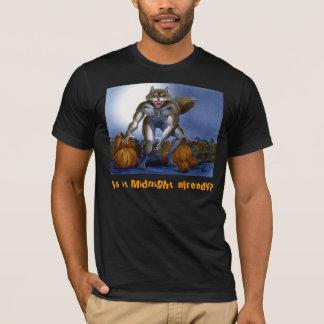 Werewolf in Pumpkin Patch T-Shirt