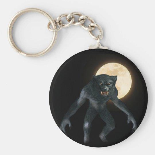 Werewolf Key Ring