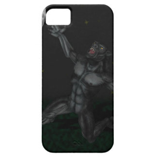 Werewolf Lycan Howling and Baying At The Moon iPhone 5 Covers