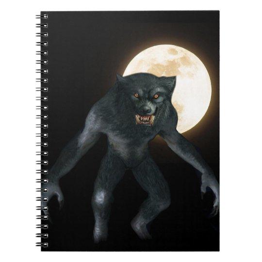 Werewolf Notebook