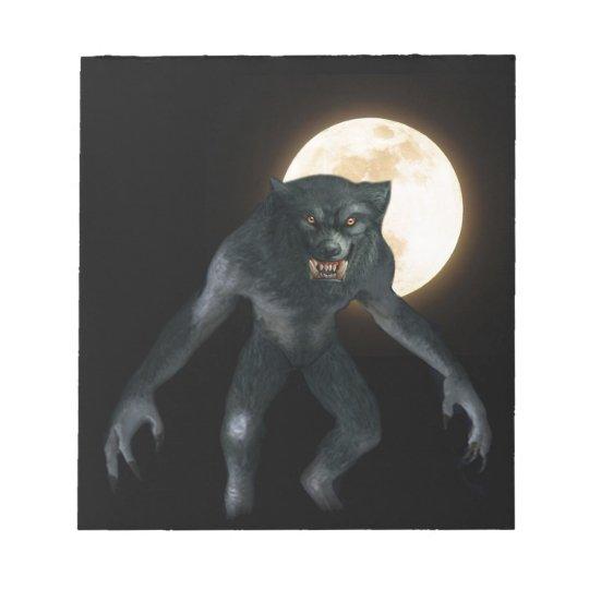Werewolf Notepad