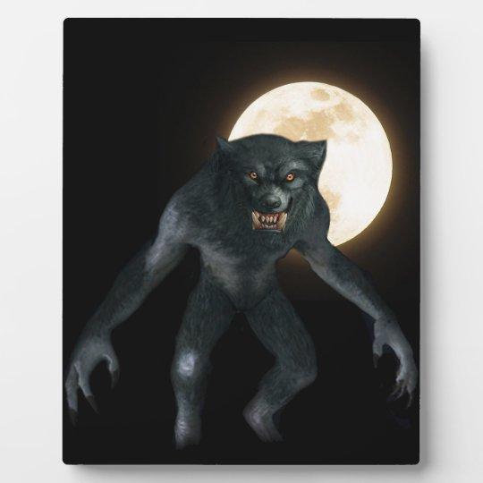 Werewolf Plaque