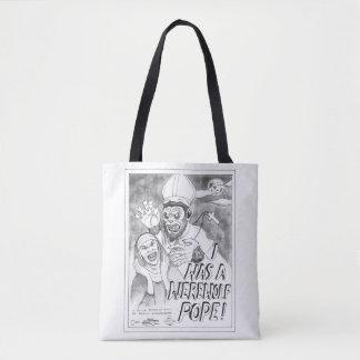 Werewolf Pope Tote Bag