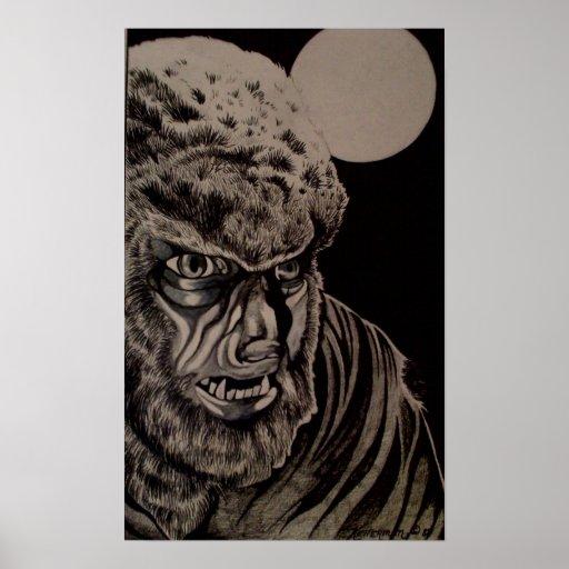 Werewolf Print