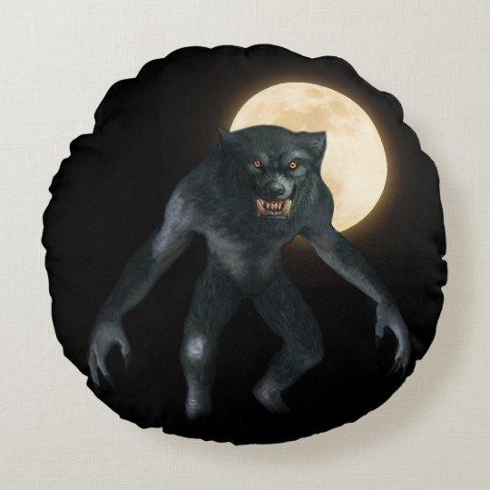 Werewolf Round Cushion