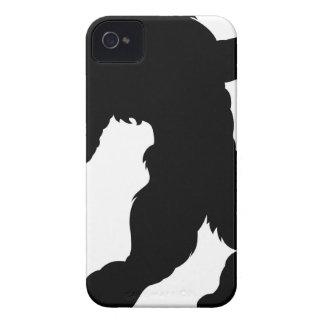 Werewolf Silhouette iPhone 4 Case-Mate Case